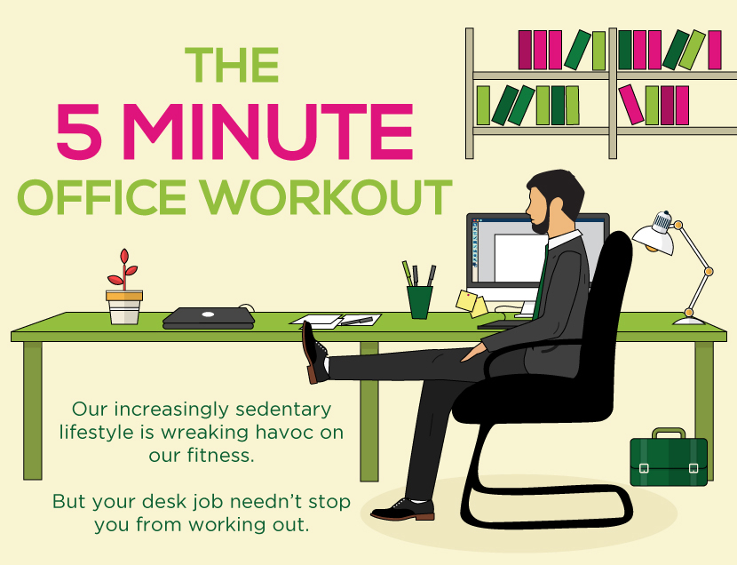 5 minute exercise at work - everyman healtheveryman health