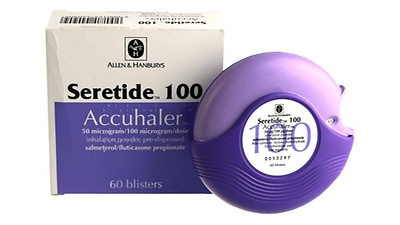 Seretide 500 Accuhaler