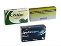 ED combo-pack including sildenafil, cialis and spedra